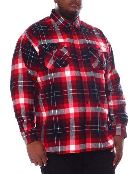 Buyers Picks - Flannel Plaid Long Sleeve Shirt (B&T)