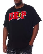 Big & Tall - Happy Drip Chenille T-Shirt (B&T)-2573659