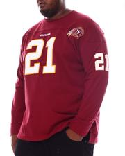 Mitchell & Ness - Red Skins Sea Taylor Long Sleeve Shirt (B&T)-2569547