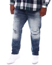 Jeans & Pants - Washed Rip Knee Denim Jeans (B&T)-2571987