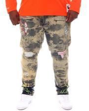 Big & Tall - Fire Shredded Jeans (B&T)-2573339