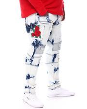 Big & Tall - Rose Biker Jeans (B&T)-2573563