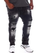 Jeans & Pants - Shredded Coated Jeans (B&T)-2573491