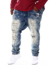 Jeans & Pants - Shredded Jeans With Bleach Spots (B&T)-2571925
