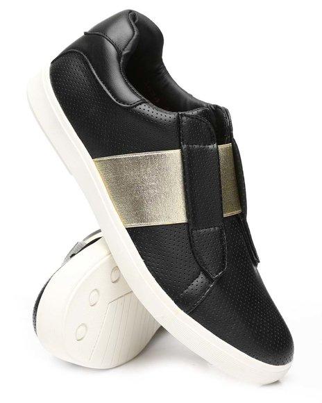 Buyers Picks - Perforated Slip On Sneakers