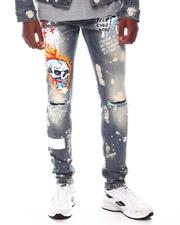 Kloud 9 - Stretch DENIM W/ GRAFFITI + PATCHED PRINT-2571445