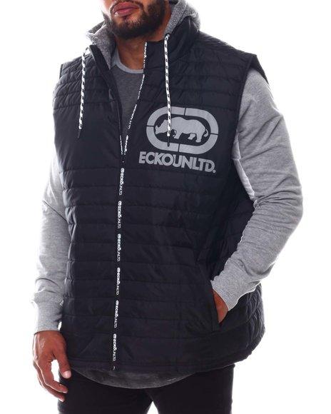 Ecko - Zip Me Up Hooded Vest (B&T)