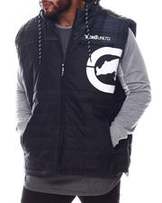 Ecko - Lumber Jack Hooded Vest (B&T)-2572591