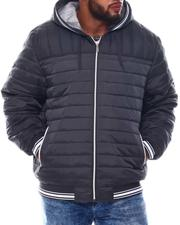Light Jackets - Puffer Hooded Jacket (B&T)-2573346