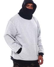 Big & Tall Faves - Pullover Hoodie with Attached Mask (B&T)-2573152