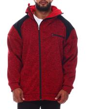 Light Jackets - High Zip Face Hoodie (B&T)-2573203