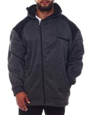 Light Jackets - High Zip Face Hoodie (B&T)-2573234