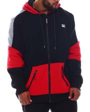 Akademiks - Colorblock Full Zip Hoodie (B&T)-2572490