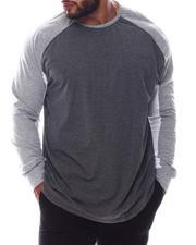 Buyers Picks - Blocked Heather Raglan Shirt (B&T)-2574297