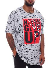 Akademiks - Never Give Up Tee (B&T)-2572510