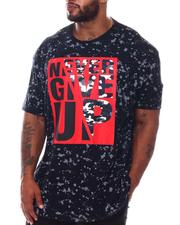 Akademiks - Never Give Up Tee (B&T)-2572514