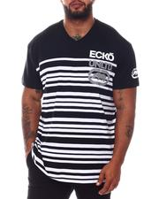Ecko - Stacked Stripes Knit T-Shirt (B&T)-2573156