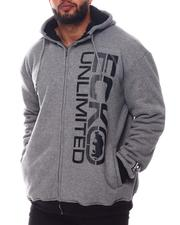 Ecko - Level Up Full Zip Sherpa Hoodie (B&T)-2572640