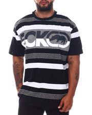 Ecko - Reflection Stripe Knit T-Shirt (B&T)-2573147