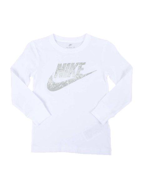 Nike - NKB Reflective Futura Long Sleeve Tee (4-7)