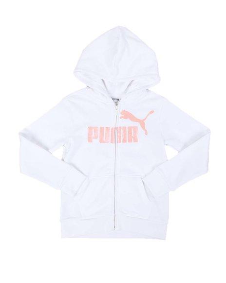 Puma - No. 1 Logo Pack Fleece Zip Up Hoodie (7-16)