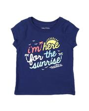 Nautica - Im Here For The Sunrise Tee (2T-4T)-2572203