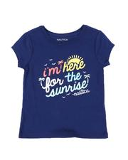 Nautica - Im Here For The Sunrise Tee (4-6X)-2572207