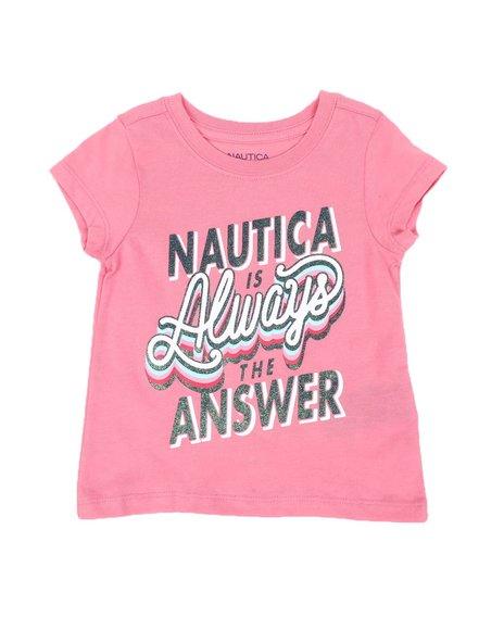 Nautica - Nautica is The Answer Tee (2T-4T)