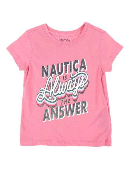 Nautica - Nautica is The Answer Tee (4-6X)