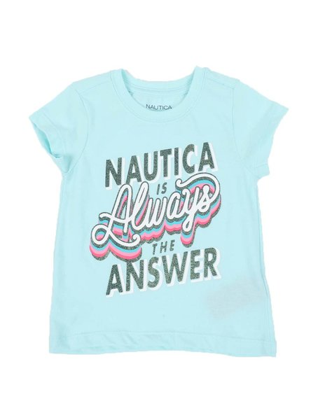 Nautica - Nautica is The Answer Tee (2T-4T)