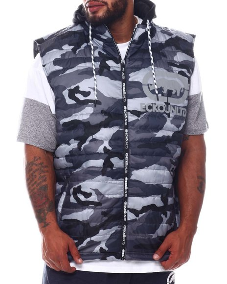 Ecko - Zip Me Up Hooded Vest (B&T)
