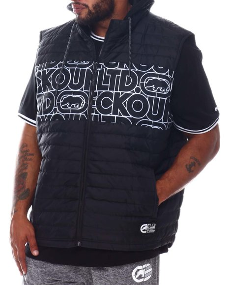Ecko - Chested Hooded Vest (B&T)