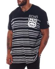 Ecko - Stacked Stripes Knit T-Shirt (B&T)-2573174