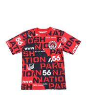 Boys - All Over Print Fashion Knit Tee (8-20)-2572454