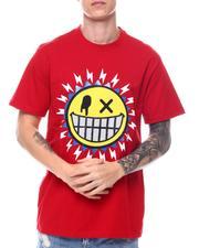 T-Shirts - Smiley Face Rhinestone Tie Dye Tee-2574436