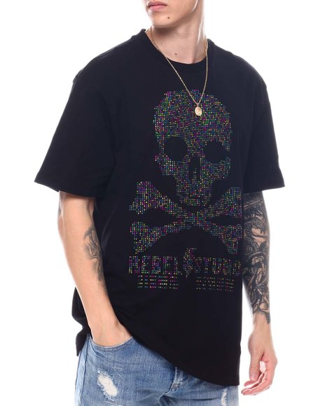 Buyers Picks - Skull and Bone Rhinestone Tee