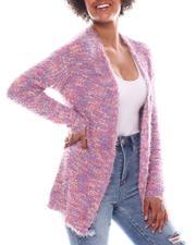 Sweaters - Space Dye Popcorn Cardigan-2573297