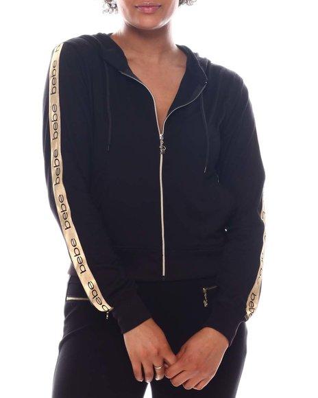 Bebe - Zip Front Sweater
