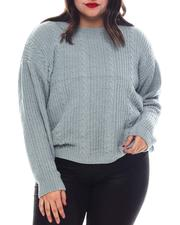 Fall-Winter - Plus Long Slv Crew NK Pullover-2574726