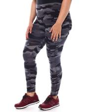Fashion Lab - Plus Cell Phone Pocket Yummy Legging-2574792