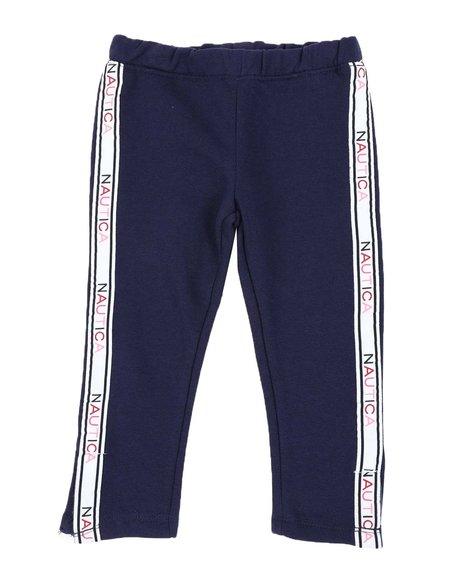Nautica - Super Soft Fleece Sweatpants W/ Taped Sides (2T-4T)