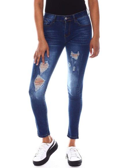 Fashion Lab - Distressed Jean