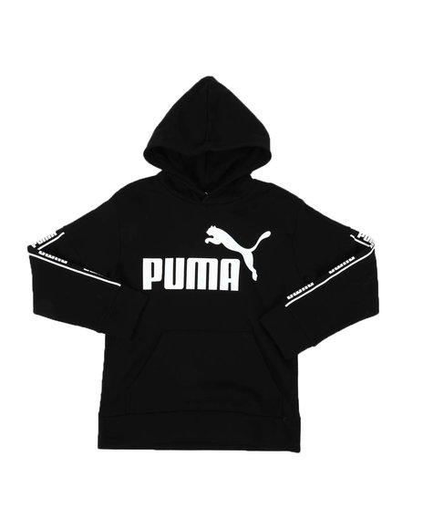 Puma - Amplified Pack Fleece Pullover Hoodie (8-20)