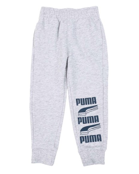 Puma - Rebel Bold Pack Essential French Terry Joggers (4-7)