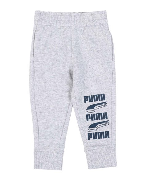 Puma - Rebel Bold Pack Essential French Terry Joggers (2T-4T)