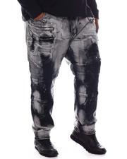 Makobi - Paint Splatter Biker Jeans (B&T)-2573592