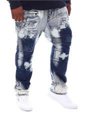 Makobi - Paint Splatter Biker Jeans (B&T)-2573579