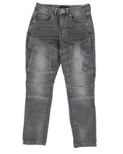 Jeans - Cut & Sew Stretch Jeans (8-18)-2574572