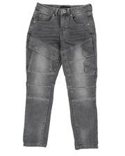 Boys - Cut & Sew Stretch Jeans (8-18)-2574572