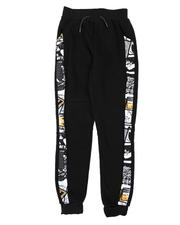 Boys - Newspaper Taped Joggers (8-18)-2575452